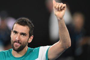 Australian Open 2018: Maric Cilic swats aside Kyle Edmund to make final