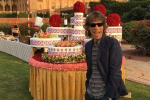 The Rolling Stones lead singer Mick Jagger's surprise India visit