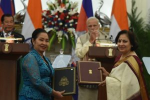 India-Cambodia sign four accords; pledge to deepen defence ties