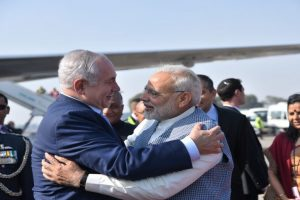 Israel PM begins historic India visit, PM Modi welcomes him with a bear hug