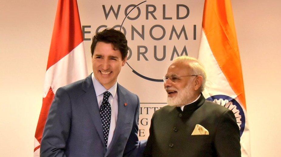Modi Trudeau meet