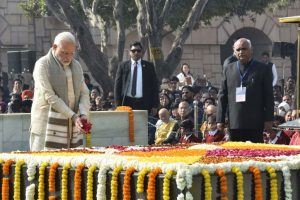 President Kovind, PM Modi pay tributes to Mahatma Gandhi on his death anniversary