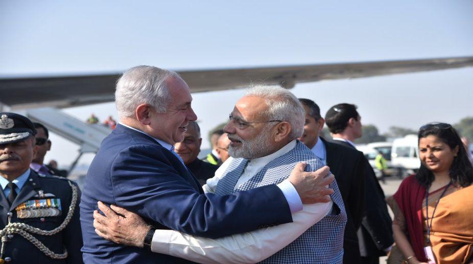PM Modi, Benjamin Netanyahu