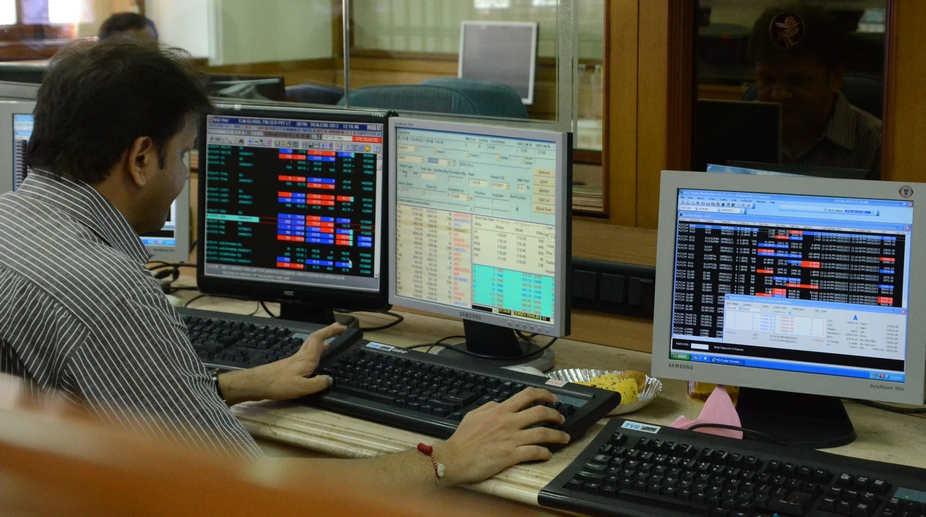 Bombay Stock Exchange (Photo: IANS)