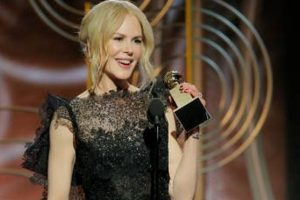 Kidman, Moss hail 'power of women' at Golden Globes