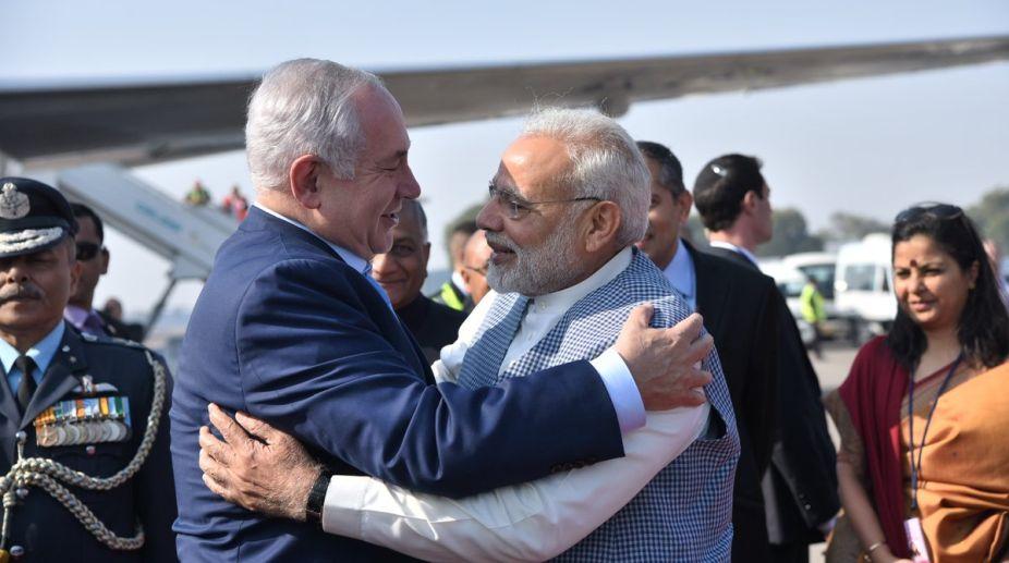 Prime Minister, Narendra Modi, Israel, Benjamin Netanyahu, Teen Murti Memorial