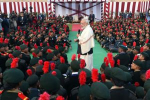 PM Modi interacts with NCC cadets, NSS volunteers