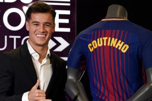 Liverpool players, former and present, react to Philippe Coutinho's departure