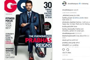 Shraddha Kapoor loved this picture of Prabhas!