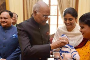 President Kovind launches country-wide Pulse Polio drive
