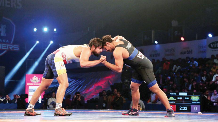 PWL, Punjab Royals, Mumbai Maharathi, Wrestling
