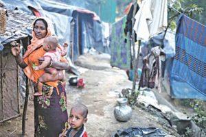 Uncertain fate of Rohingya women