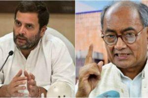Rahul Gandhi critcises BJP, Digvijay slams 'Padmaavat'