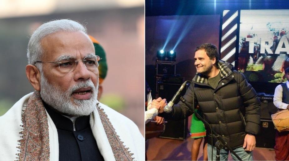 Rahul Gandhi jacket triggers war.