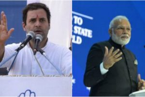 Please tell Davos about wealth disparity in India: Rahul to Modi