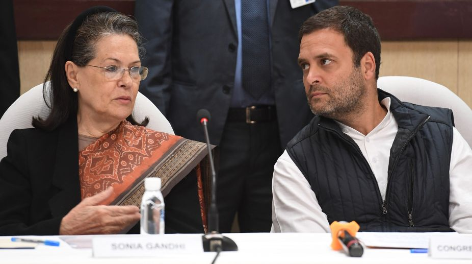What was cooking at Sonia Gandhi dinner? 2019