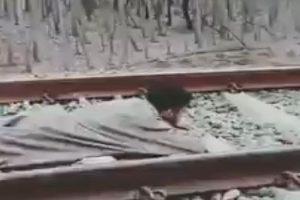 Kashmiri man's 'stupid' rail stunt video goes viral; Twitterati want him 'arrested'