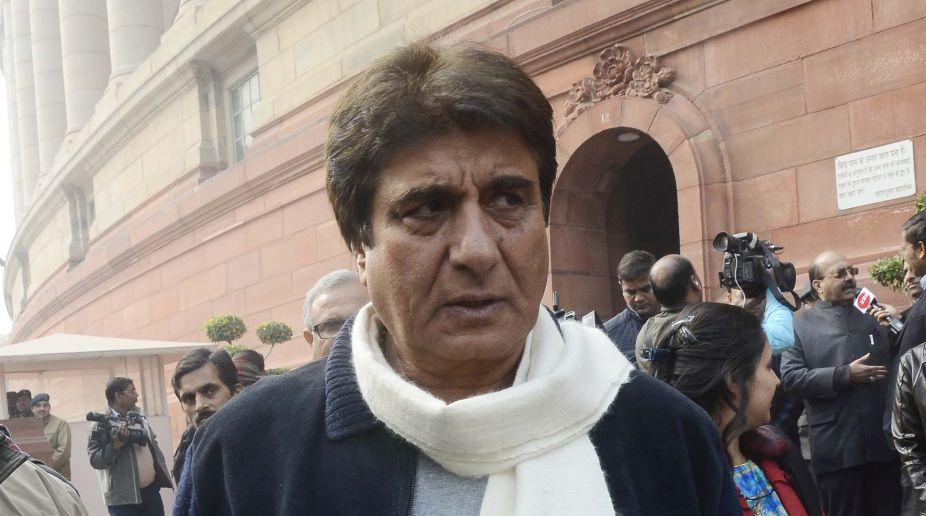 Congress leader Raj Babbar resigns as UP party chief?