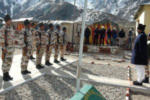 Rajnath Singh celebrates new year with ITBP jawans