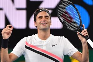 Pictures: Ace tennis player Roger Federer in Australian open