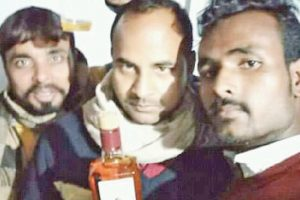 Liquor selfie of JD-U leader goes viral in dry Bihar, case lodged
