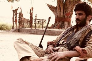 Here's the first look of Ronnie Screwvala's next with Sushant Singh Rajput titled Son Chiriya