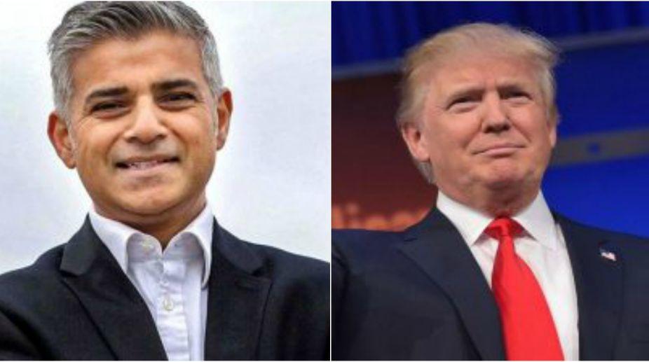 Sadiq Khan, Donald Trump