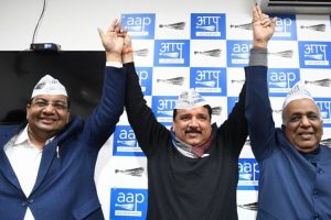 In pics: AAP opens account in Rajya Sabha, MLA Dhinakaran protests in TN