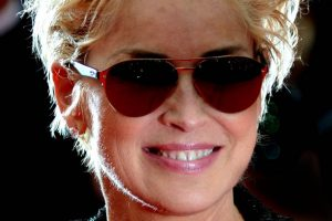 Sharon Stone had 5 per cent chance of living
