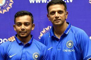 Rahul Dravid's India team faces Australia in U-19 World Cup opener