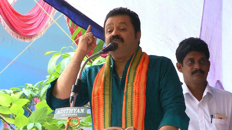 BJP MP arrested, Suresh Gopi, fake address case