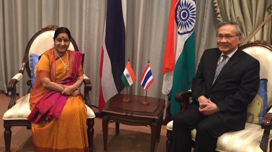 Sushma Swaraj, India, Thailand, Don Pramudwinai