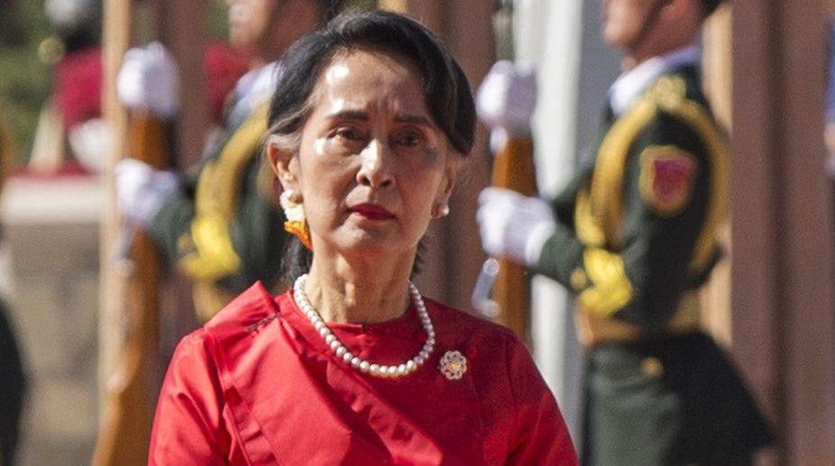 Aung San Suu Kyi, Myanmar, Win Myint, Myanmar President