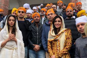 Team Aiyaary visits Golden Temple ahead of film's release