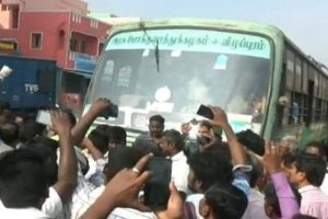 Protests continue against bus fare hike, Kamal attacks TN govt