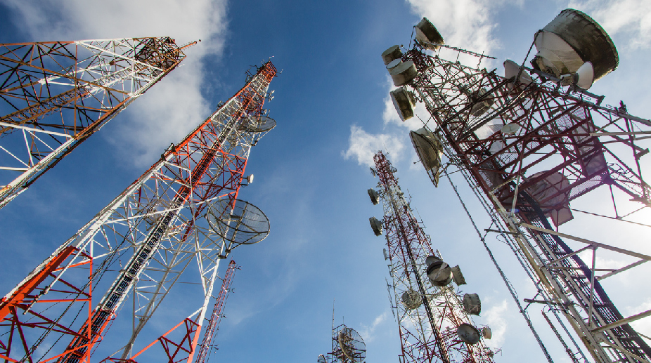 Draft telecom policy aims 40 lakh jobs, Dollars 100 bn investment
