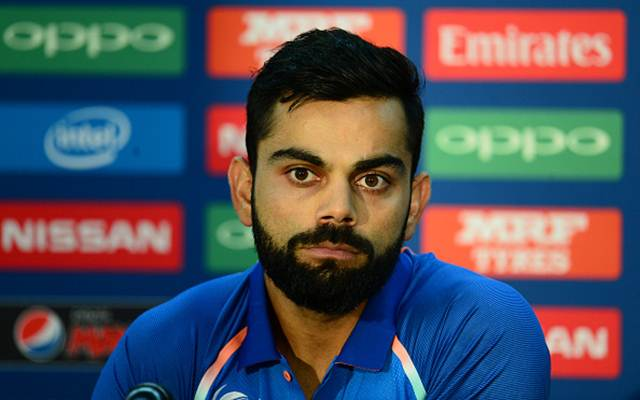 Indian Skipper Virat Kohli Photo: Twitter