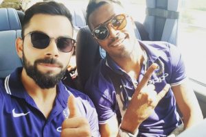Virat Kohli posts picture with Hardik Pandya, says excited about 2nd Test