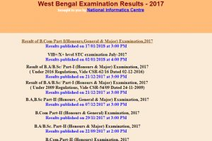 West Bengal results 2017 for B Com, BA, BSc declared at wbresults.nic.in | Check now