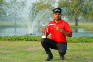 Wasim Khan wins the PGTI Qualifying School 2018