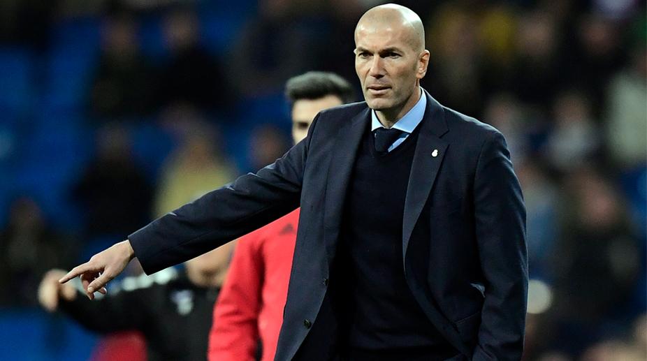 Zinedine Zidane, Real Madrid C.F., La Liga, Copa del Rey