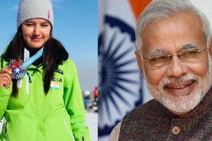 Modi lauds Anchal Thakur for winning India's first international skiing medal