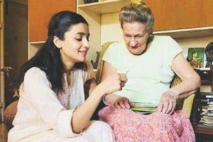 Alia Bhatt spending time with her granny will make your heart melt