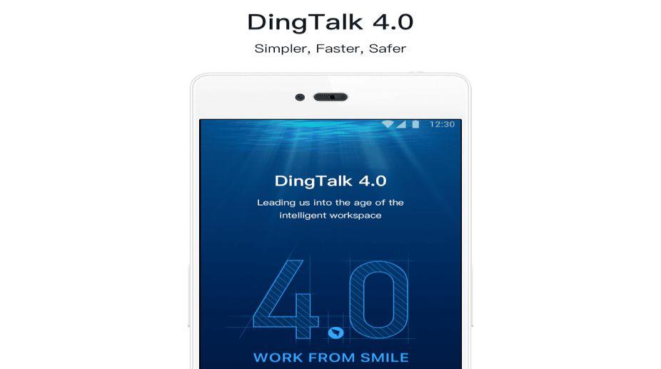 Alibaba-owned DingTalk enterprise chat app for SMEs now