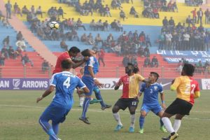 I-League: East Bengal thump Arrows to stay on top