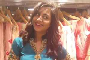 Arshi Khan unveils proof of her upcoming film with Prabhas