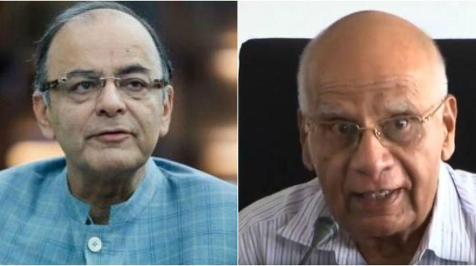 Arun Jaitley,Finance Minister, T N Srinivasan, economist