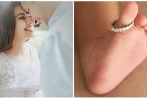 Asin shares first glimpse of her baby girl on her wedding anniversary