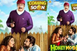 First poster out: Soham, Subhasree's 'Honeymoon' promises to be a hilarious roller coaster ride