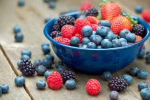 Eating berries may prevent cancer